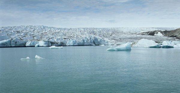 Isertoq Glacier, East Greenland in 2012 by Klaus Thymann