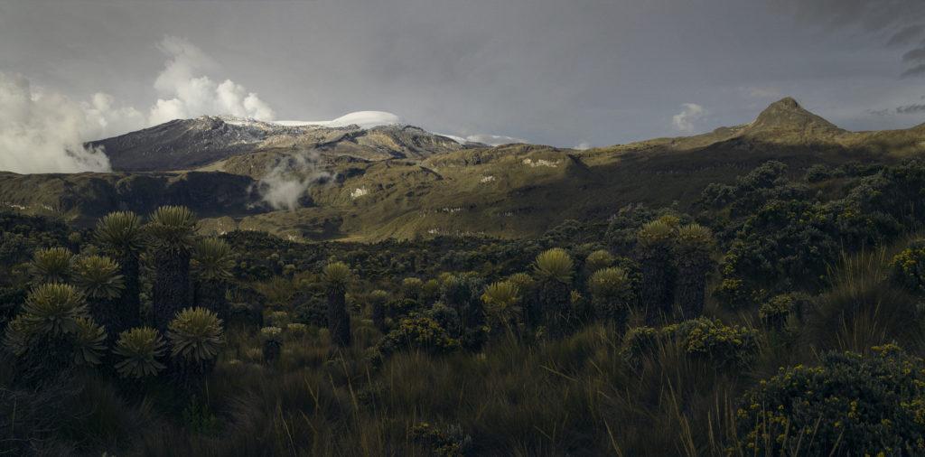 Ruiz Volcano & Cisne Peak, Colombia, 2013