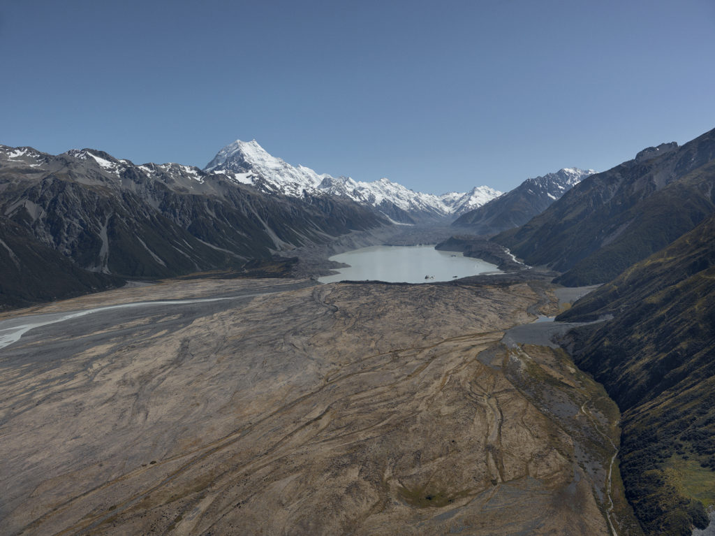Tasman Glacier by Klaus Thymann