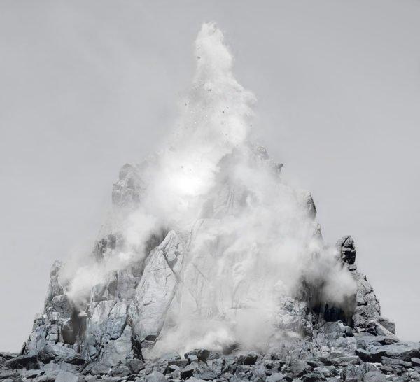 Tectonic, Lightjet Print, 168 x 185 cm, 2015 © Noemie Goudal